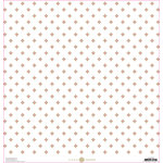 Anna Griffin - Lila Collection - 12 x 12 Cardstock with Foil Accents - Pink Foulard