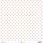 Anna Griffin - Lila Collection - 12 x 12 Paper with Foil Accents - Pink Foulard