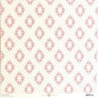 Anna Griffin - Smitten Collection - 12 x 12 Cardstock - Harlequin With Foil