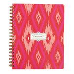 Anna Griffin - Weekly Agenda - Pink Ikat - Undated