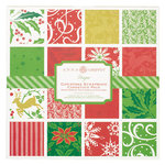 Anna Griffin - The Hannah Holiday Collection - Christmas - 12 x 12 Double Sided Cardstock Pack