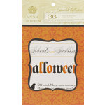 Anna Griffin - Esmerelda Collection - Halloween - Vellum Quote Pad, CLEARANCE