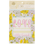 Anna Griffin - Fifi and Fido Collection - Vellum Quote Pad
