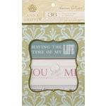 Anna Griffin - Francesca Collection - Vellum Quote Pad