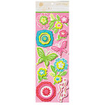 Anna Griffin - Isabelle Collection - Glittered 3 Dimensional Stickers - Art Accents