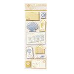 Anna Griffin - Calisto Collection - Glittered 3 Dimensional Stickers, CLEARANCE