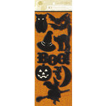 Anna Griffin - Esmerelda Collection - Halloween - Glittered 3 Dimensional Stickers