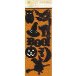 Anna Griffin - Esmerelda Collection - Halloween - Glittered 3 Dimensional Stickers
