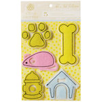 Anna Griffin - Fifi and Fido Collection - 3 Dimensional Felt Stickers
