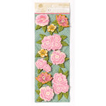 Anna Griffin - Palmer Collection - 3 Dimensional Cardstock Stickers - Art