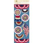 Anna Griffin - Madison Collection - 3 Dimensional Stickers - Art