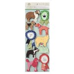 Anna Griffin - Best In Show Collection - 3 Dimensional Stickers - Art - Dogs