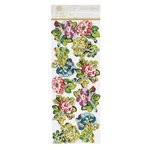 Anna Griffin - Charlotte Collection - 3 Dimensional Stickers - Art