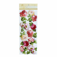 Anna Griffin - Lila Collection - 3 Dimensional Stickers - Art