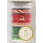 Anna Griffin - Twinkle Bright Collection - Christmas - Border Stickers