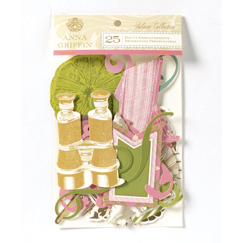 Anna Griffin - Palmer Collection - Foiled Die Cut Pieces