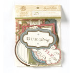 Anna Griffin - Haven Collection - Foiled Die Cut Pieces - Words