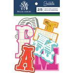 Anna Griffin - Gabbie Collection - Foiled Die Cut Pieces