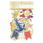 Anna Griffin - Seafarer Collection - Die Cut Cardstock Pieces