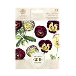 Anna Griffin - Cardstock Stickers - Pansy