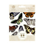 Anna Griffin - Cardstock Stickers - Butterfly