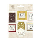 Anna Griffin - Cardstock Stickers - Sentiments