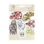 Anna Griffin - Cardstock Stickers - Flourishes