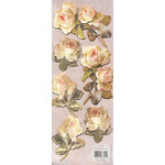 Anna Griffin - Charlotte Collection - 3-Dimensional Sitckers - Roses