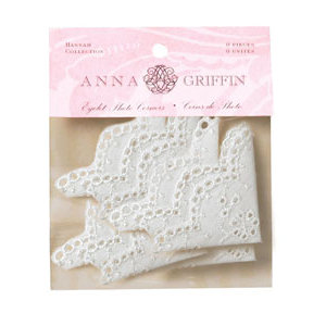 Anna Griffin - Hannah Collection - Eyelet Photo Corners