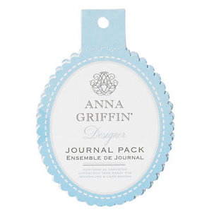 Anna Griffin - Hannah Collection - Journaling Tags Pack - Blue, CLEARANCE