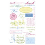 Anna Griffin - Rub On Art - Quotes - Grace, CLEARANCE