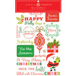 Anna Griffin - MacKenzie Collection - Christmas - Holiday - Rub On Art, BRAND NEW
