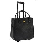 Anna Griffin - Black Collection - Solid Rolling Bag