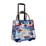 Anna Griffin - Seafarer Collection - Rolling Bag - Regatta Blue