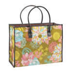 Anna Griffin - Hope Chest Collection - Fabric Tote Bag - Floral