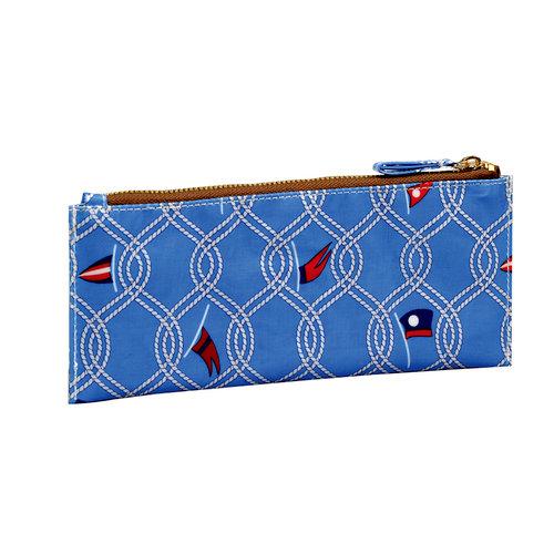 Anna Griffin - Seafarer Collection - Pencil Case - Maritime Blue