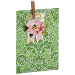 Anna Griffin - Treat Bags - Green Damask