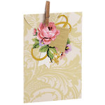Anna Griffin - Treat Bags - Ivory Damask