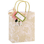 Anna Griffin - Gift Bags - Ivory Damask