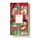 Anna Griffin - Twinkle Bright Collection - Christmas - 3 Dimensional Gift Tag Set with Foil Accents