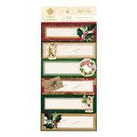 Anna Griffin - Christmas - 3 Dimensional Gift Labels - Yuletide Greetings
