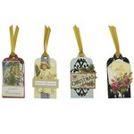 Anna Griffin - Christmas - Tags - Victorian