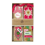 Anna Griffin - Christmas - Tags - Kraft