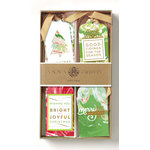 Anna Griffin - Christmas - 3 Dimensional Gift Tags - Marble