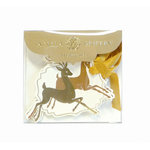 Anna Griffin - Christmas - Tags - Gold Deer