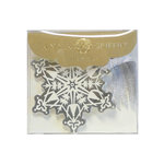 Anna Griffin - Christmas - Tags - Silver Snowflake