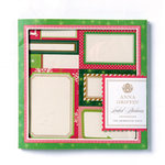 Anna Griffin - Twinkle Bright Collection - Christmas - Label Stickers