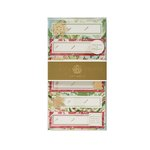 Anna Griffin - Christmas - 3 Dimensional Gift Stickers - Marble