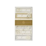 Anna Griffin - Christmas - 3 Dimensional Gift Stickers - White