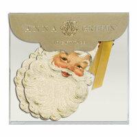 Anna Griffin - Christmas - Tags - Vintage Santa